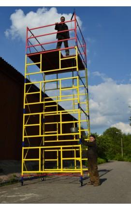 Вышка тура 2 х 2 (5+1). Тура строительная для ремонтно-строительных работ на высоте до 8,4м