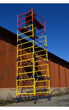 Вишка тура  2,0 х 1,2 (4+1) Надійна металева конструкція для висотних робіт