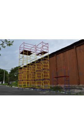 Вышка тура 1,2 х 2 (5+1). Тура строительная для работ на высоте до 8,4 м. Вышки туры купить на Tower.com.ua